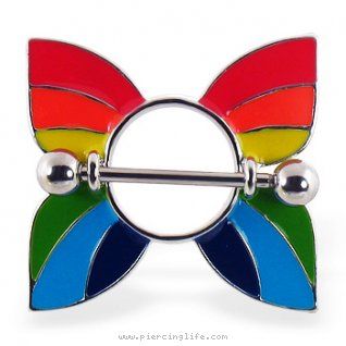 blarge rainbow butterfly nipple shield 14 ga 76320 Instead, we get these two cowgirls completely naked within a few short ...